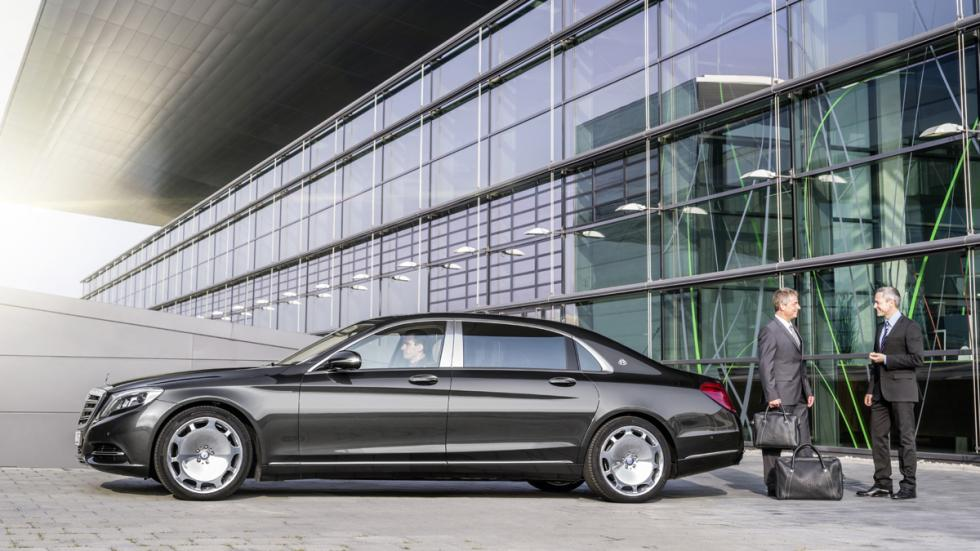 mercedes-maybach clase s perfil