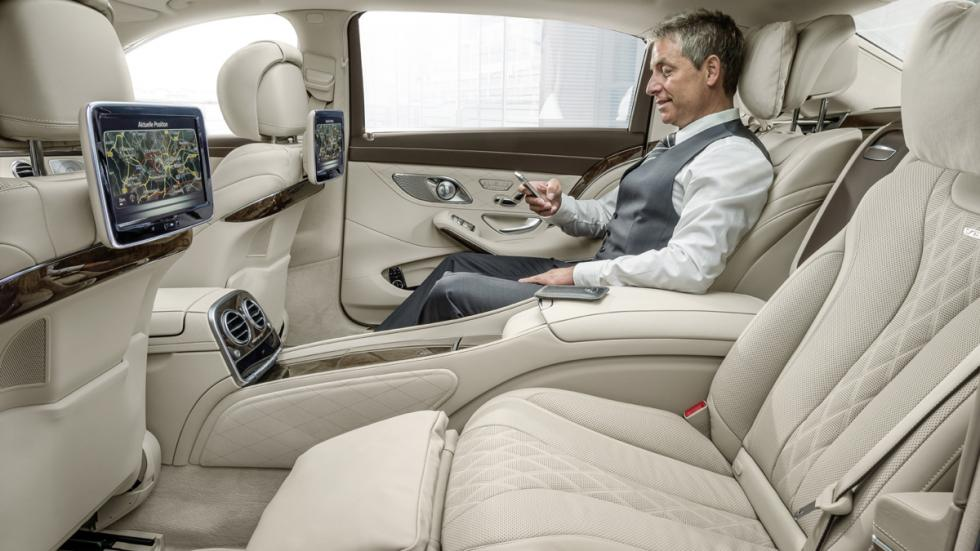 mercedes-maybach clase s plazas