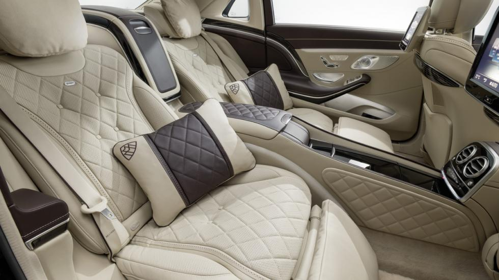 mercedes-maybach clase s interior detalle