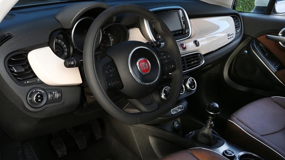 Fiat 500X 4x4 interior