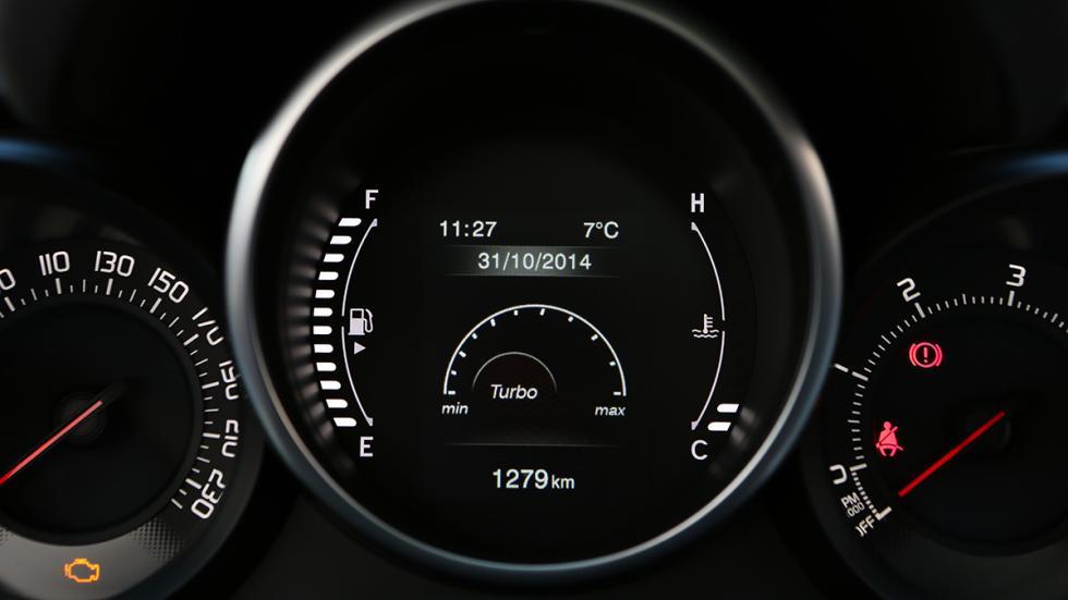 Fiat 500X 4x4 instrumentacion