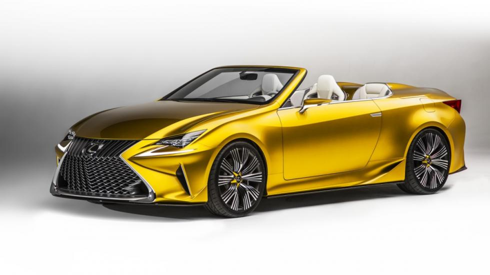 Lexus LF-C2 Concept lateral