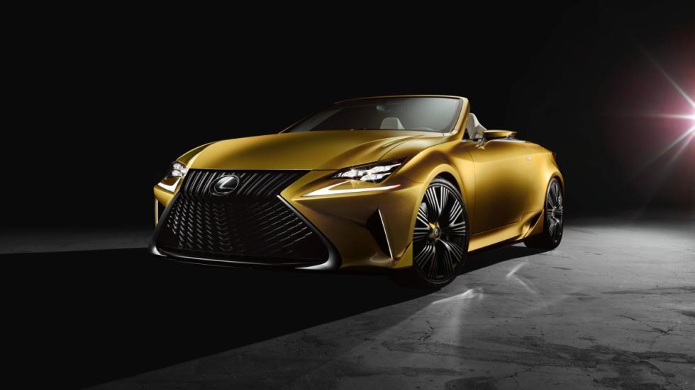 Lexus LF-C2 Concept frontal