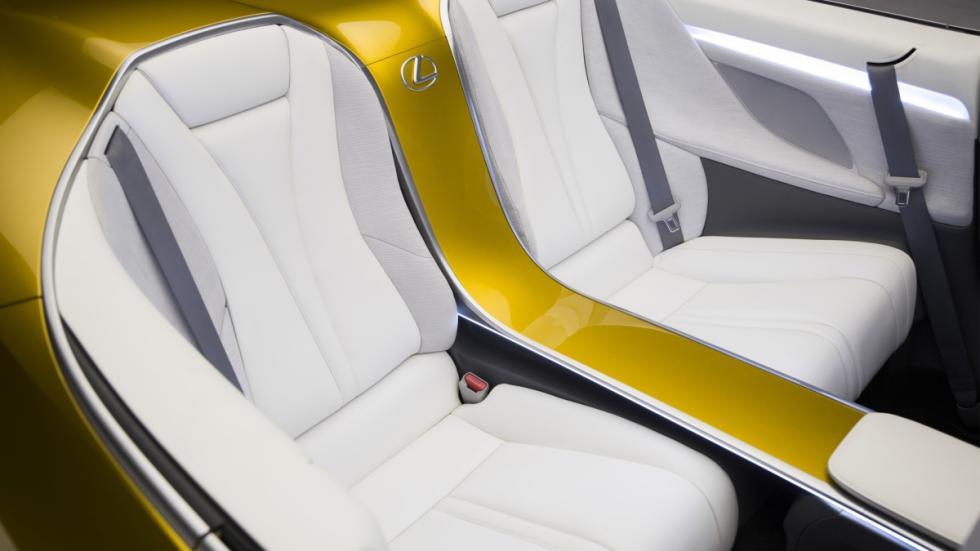 Lexus LF-C2 Concept asientos