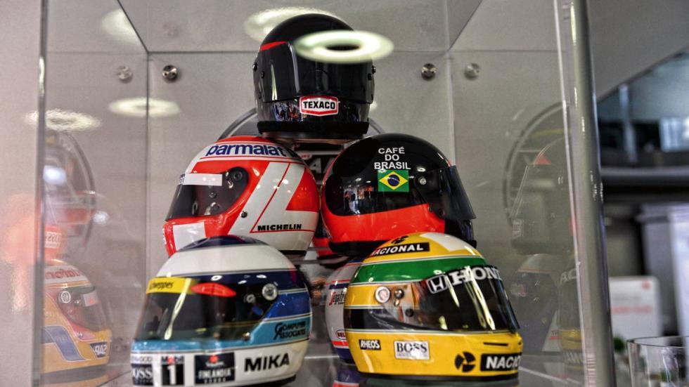 Cascos de pilotos McLaren