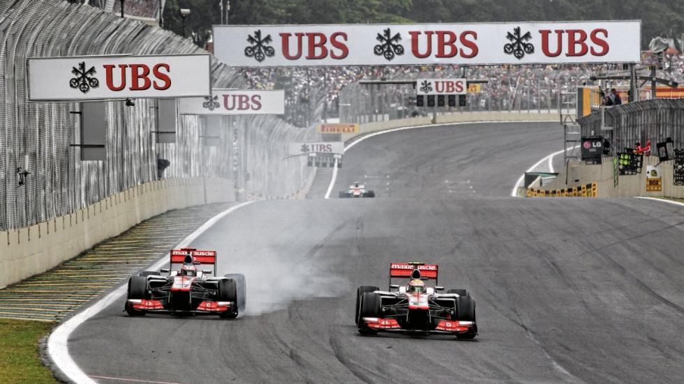 Button y Hamilton en McLaren