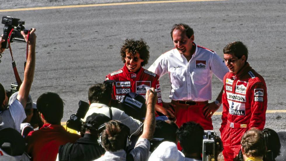 Senna y Prost