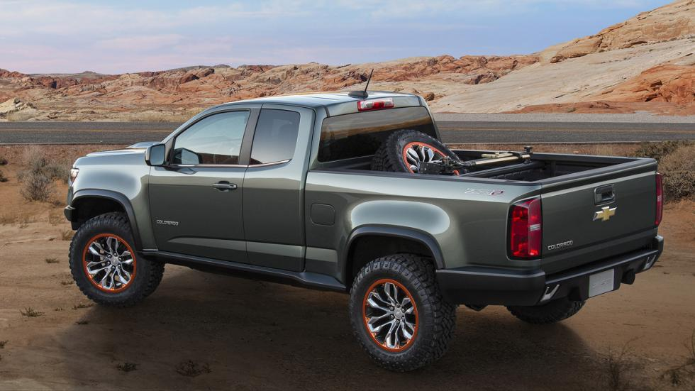 Chevrolet Colorado ZR2 Concept zaga
