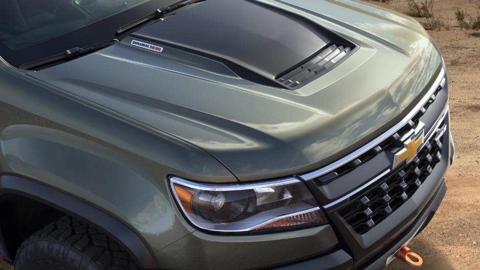 Chevrolet Colorado ZR2 Concept capo