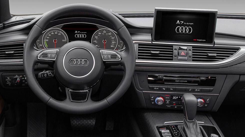 Audi A7 h-tron quattro interior