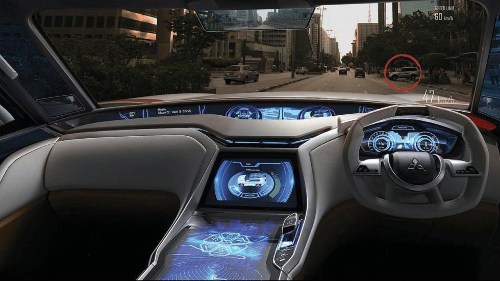 Mitsubishi XR-PHEV Concept - interior
