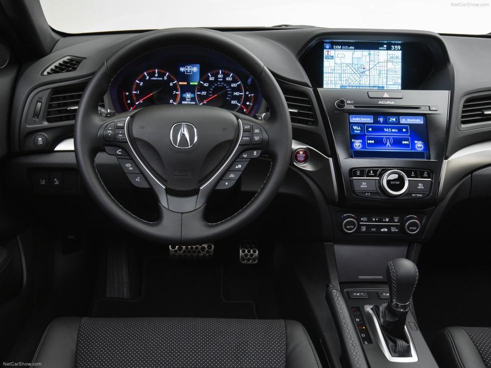 Interior del Acura ILX