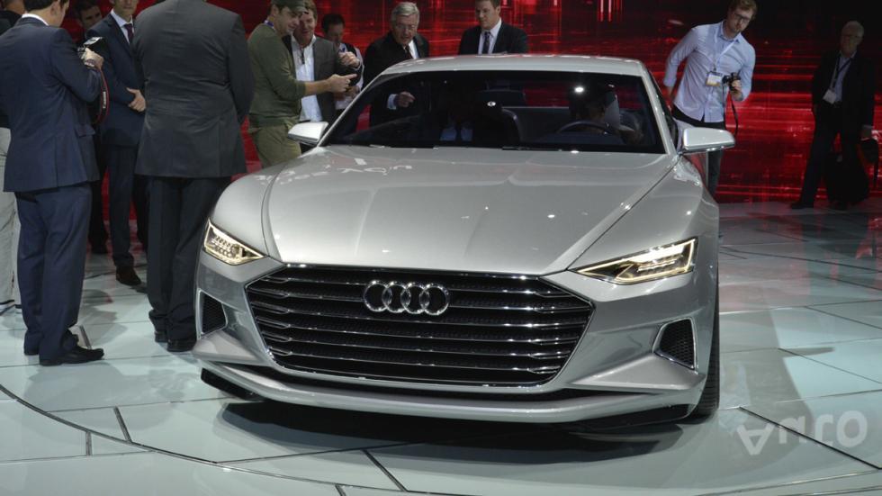 prototipos espectaculares Salón Los Ángeles 2014 Audi Prologue morro