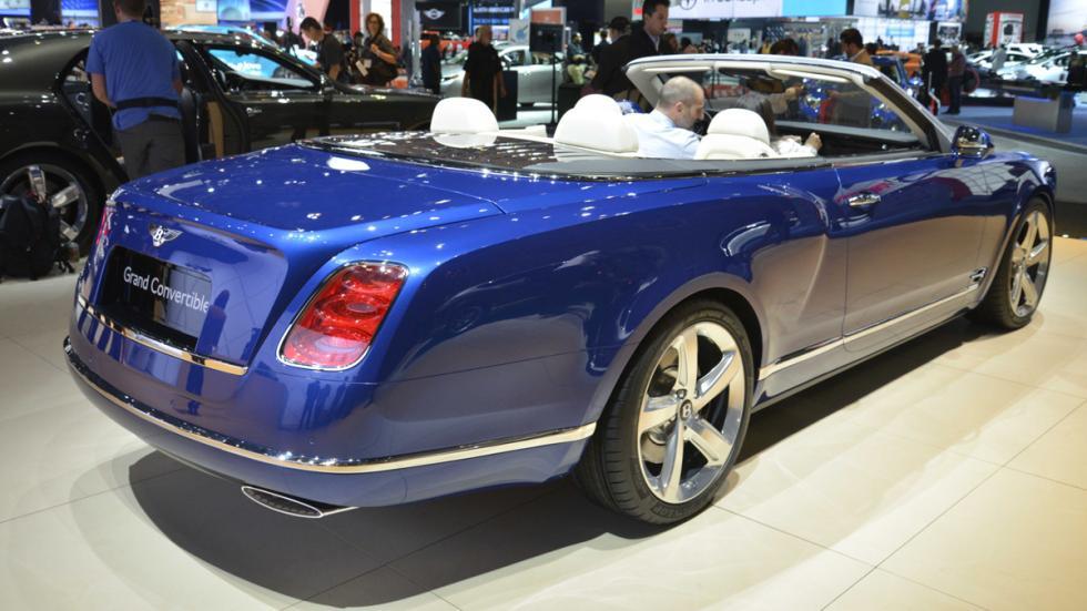 prototipos espectaculares Salón Los Ángeles 2014 Bentley Grand Convertible zaga