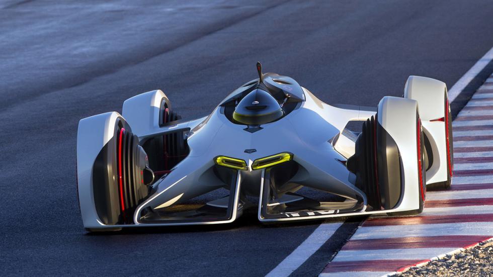 prototipos espectaculares Salón Los Ángeles 2014 Chevrolet Chaparral 2X Vision G