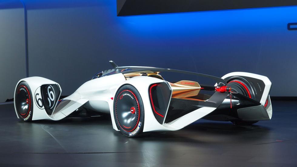 prototipos espectaculares Salón Los Ángeles 2014 Chevrolet Chaparral