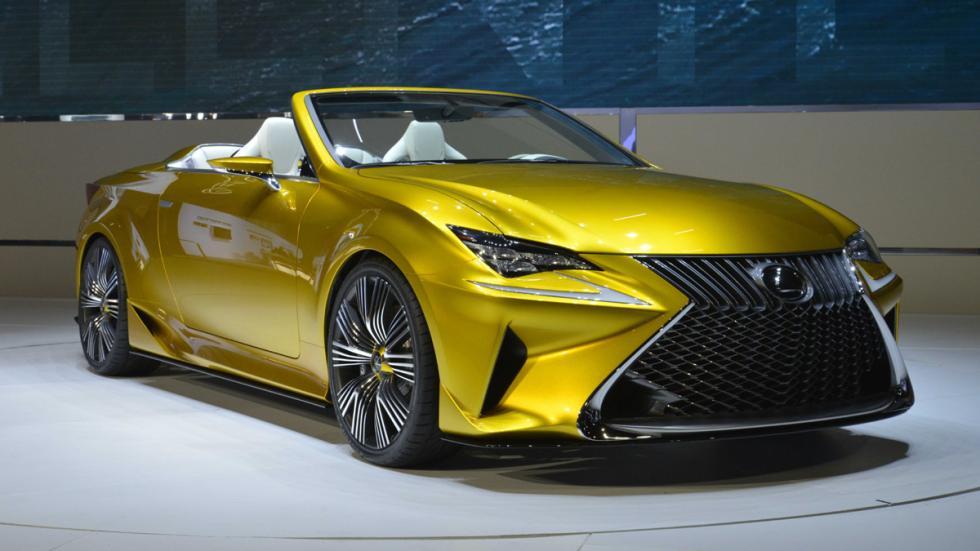 prototipos espectaculares Salón Los Ángeles 2014 Lexus LF-C2 Concept