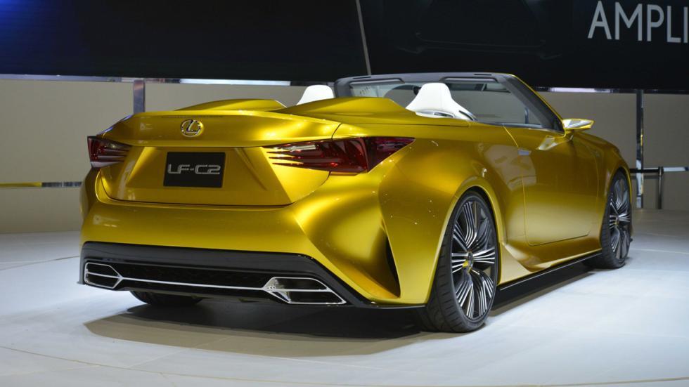 prototipos espectaculares Salón Los Ángeles 2014 Lexus LF-C2 Concept zaga