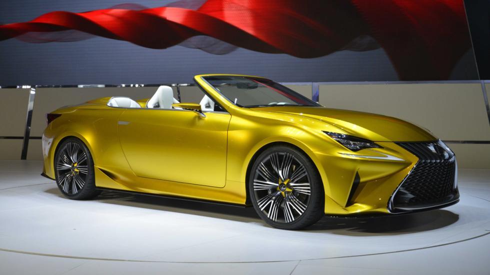prototipos espectaculares Salón Los Ángeles 2014 Lexus LF-C2 Concept lateral