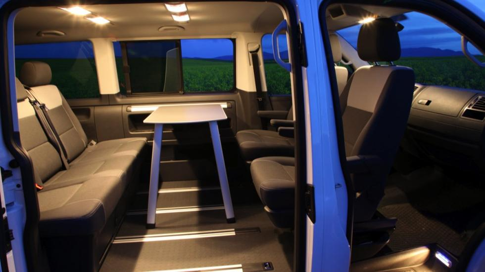 Volkswagen Multivan Outdoor Edition interior