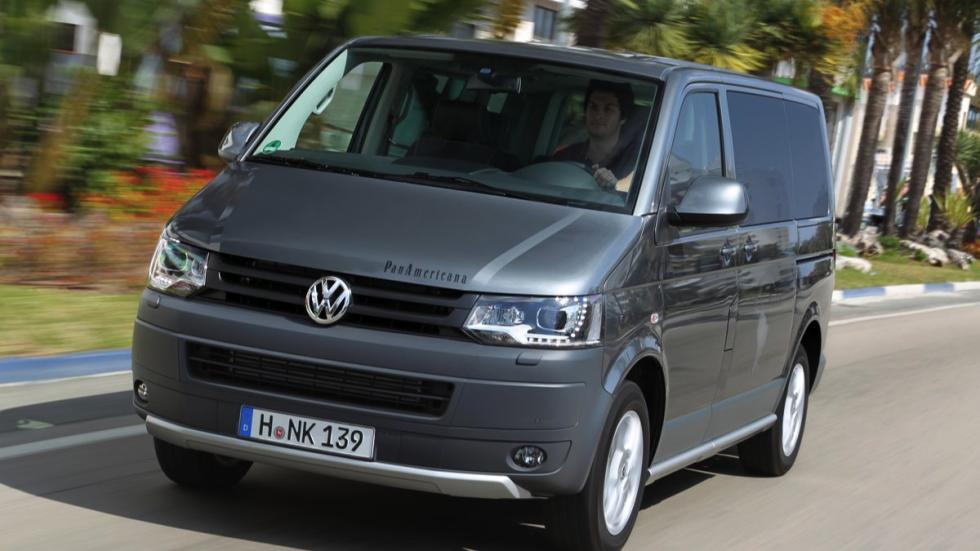 Volkswagen Multivan Panamericana delantera