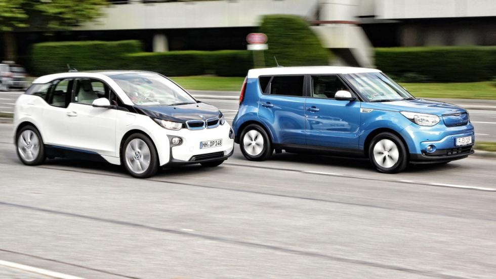 Kia Soul EV vs BMW i3