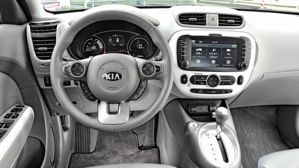 Kia Soul EV puesto de conducción