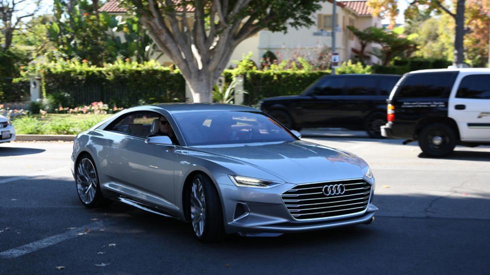 Audi prologue dinámica en ciudad