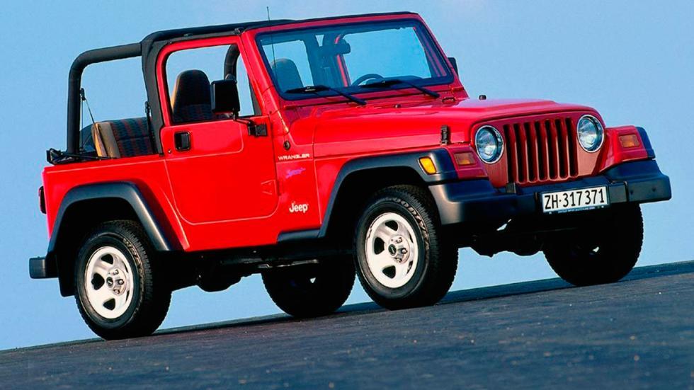 Jeep Wrangler delantera