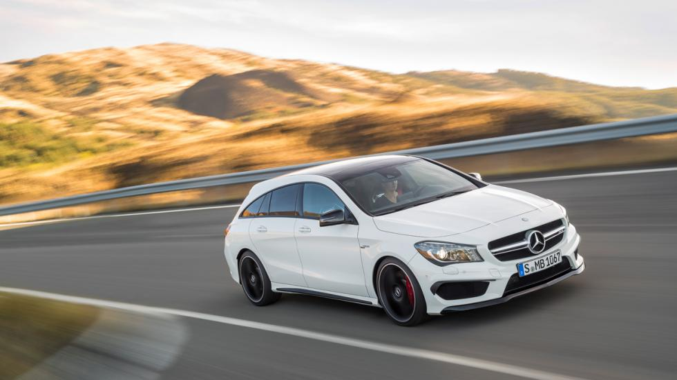 Mercedes CLA 45 AMG Shooting Brake frontal