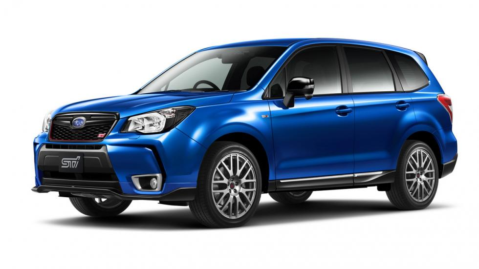 Subaru Forester tS lateral