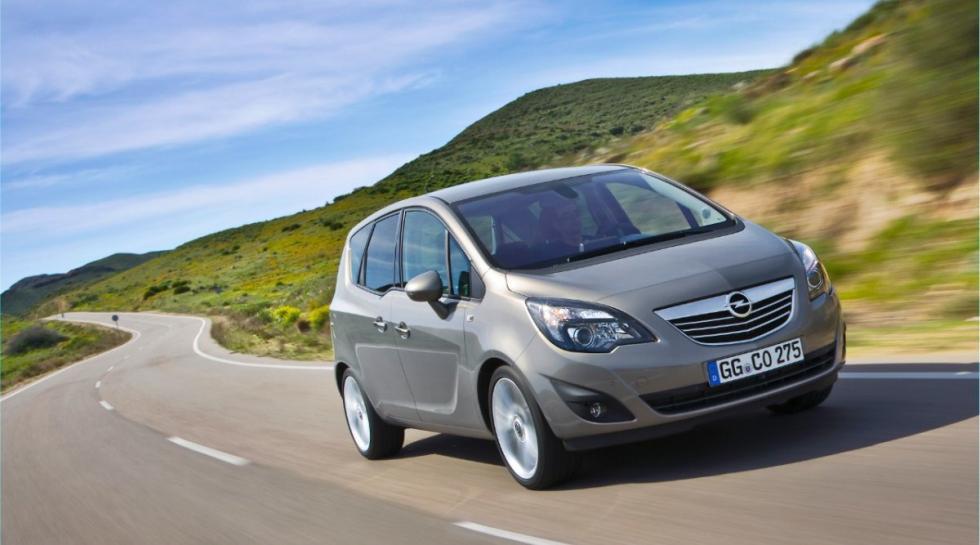Opel Meriva delantera