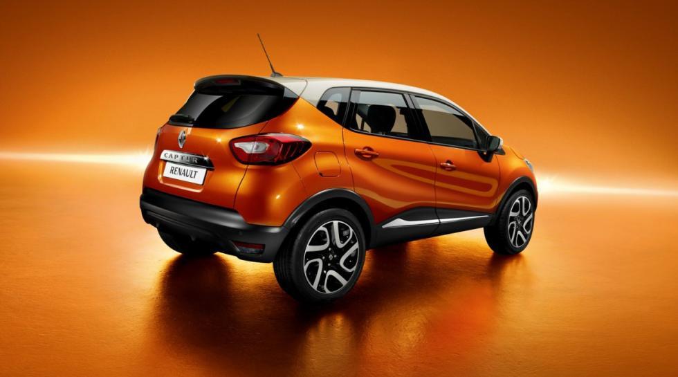 Renault Captur trasera