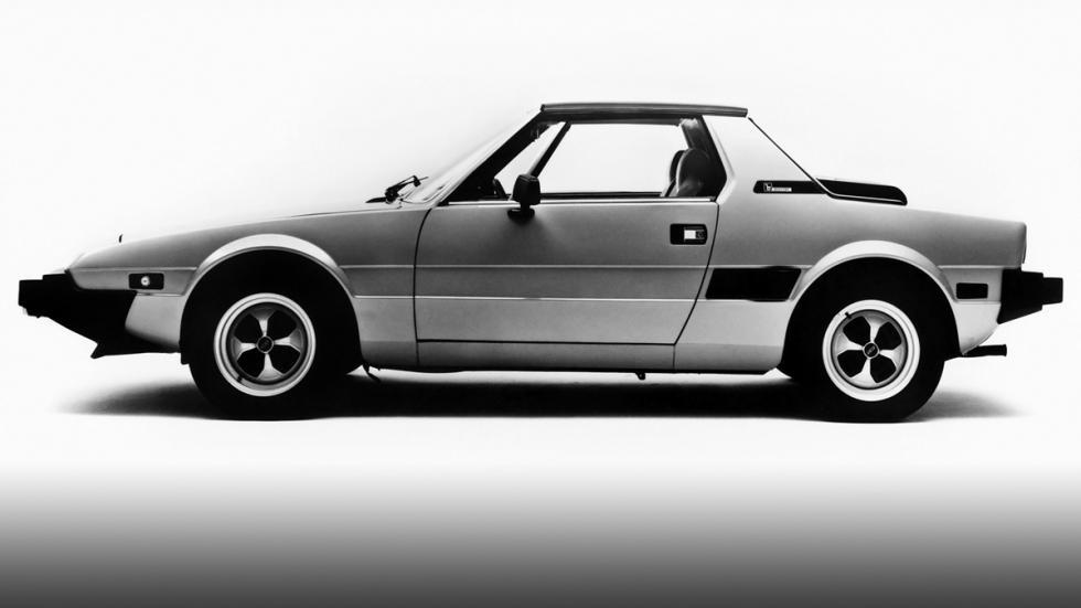 Fiat X1/9 - lateral