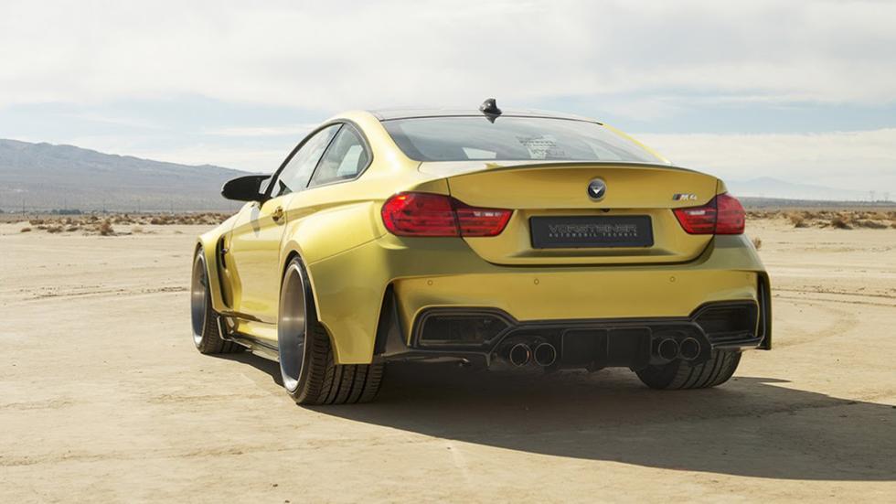 10 coches auténticos rebeldes BMW M4 GTRS4 Vorsteiner