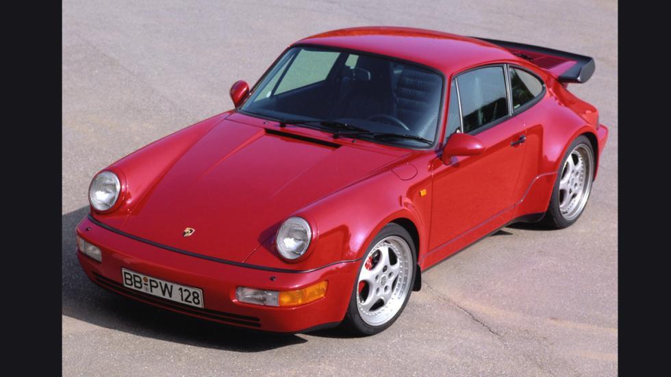 10 coches auténticos rebeldes Porsche 911 964 Turbo