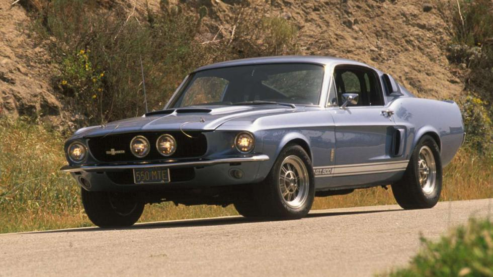 10 coches auténticos rebeldes Shelby Mustang GT500