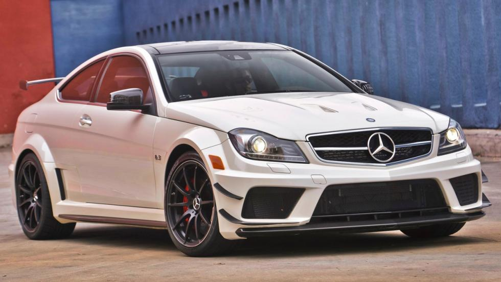 10 coches auténticos rebeldes Mercedes C63 AMG Black Series