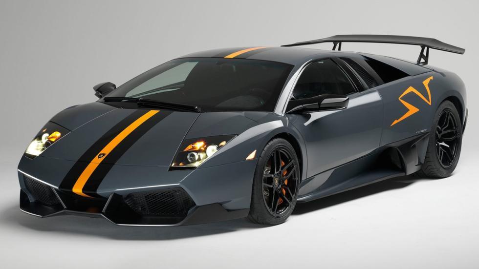 10 coches auténticos rebeldes Lamborghini Murciélago LP670-4 SV