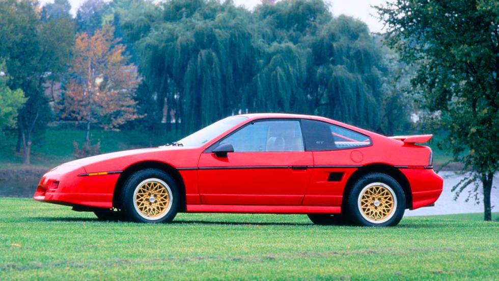 Pontiac Fiero - restyling
