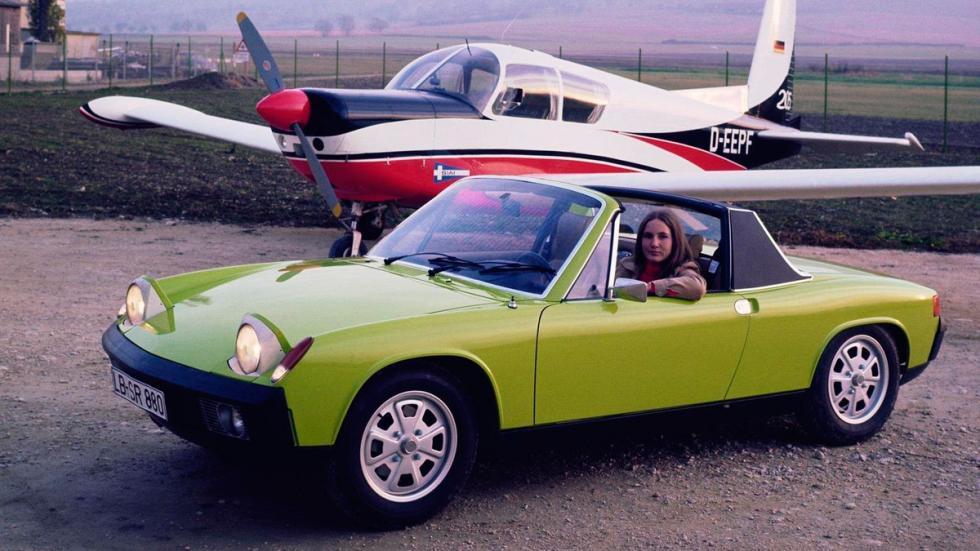 Porsche 914 - frontal