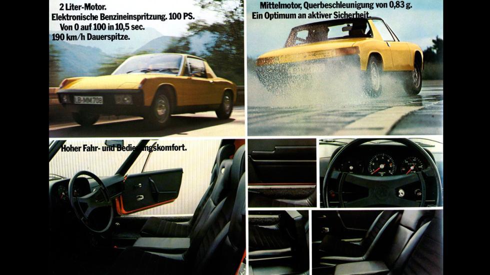 Porsche 914 - catálogo