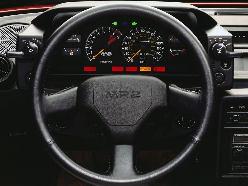 Toyota MR2 - interior