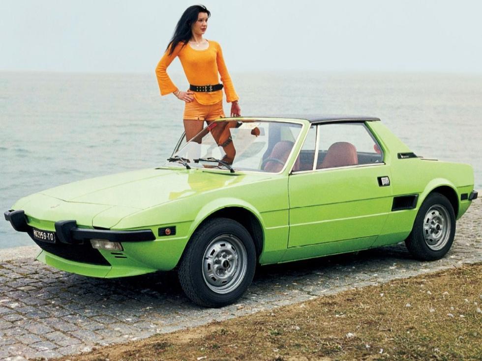 Fiat X1/9 - con chica