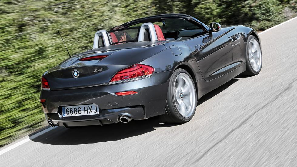 BMW Z4 sDrive35is trasera