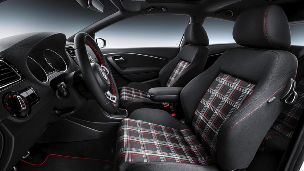 Asientos del Volkswagen Polo GTI
