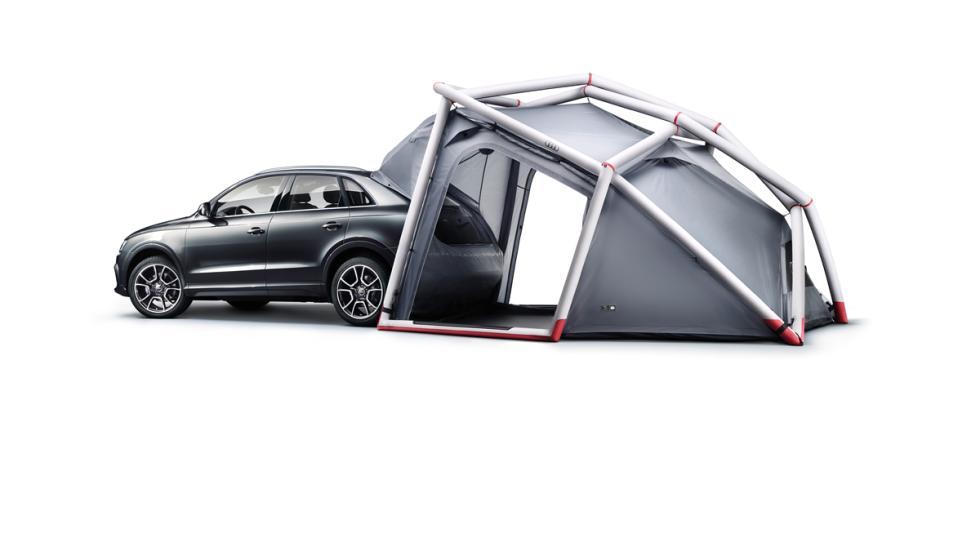 Nuevo Audi Q3 tienda de campaña