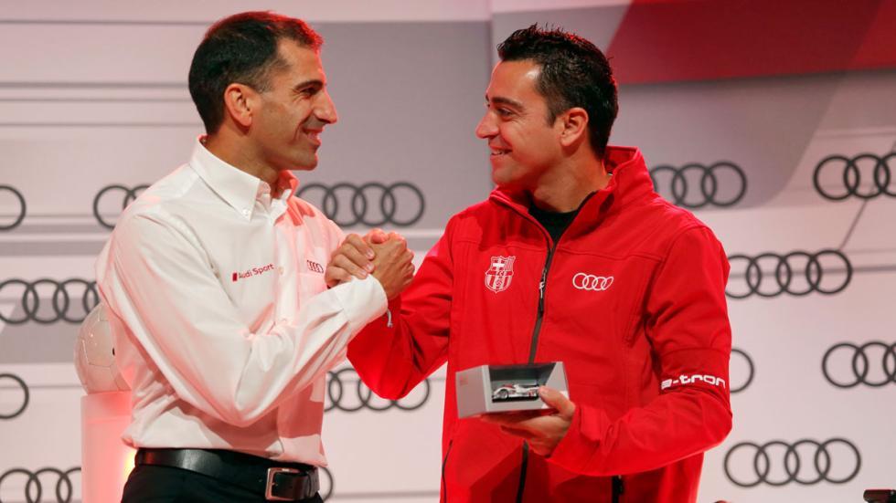 Marc Gené y Xavi Hernández