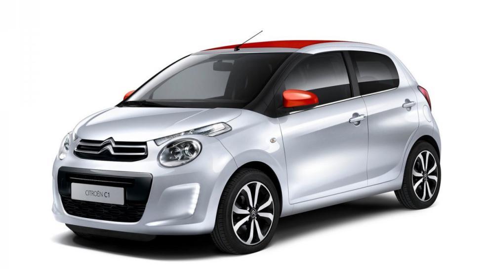 Citroën C1 delantera