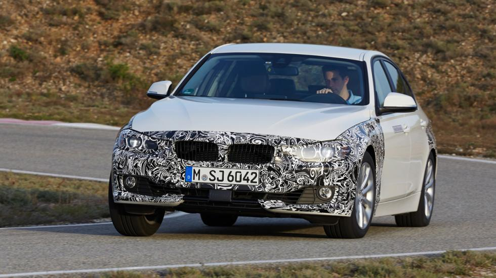 BMW Serie 3 Plug-in Hybrid - frontal